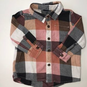 Baby Gap button down shirt in fall colors